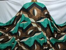 *NEW*Microfiber Polyester Abstract-African Print Dress/Craft Fabric*FREE P&P*