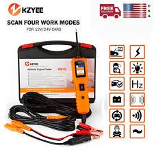 KM10 12V 24V Automotive Circuit Tester Probe Kit Truck Car Diagnostic Test Tool