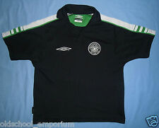 CELTIC FC / 2003-2005 - UMBRO - JUNIOR leisure (polo) Shirt. Size: MB, 28/29""