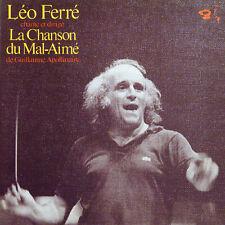 LEO FERRE La Chanson Du Mal Aimé Apollinaire FR Press Barclay 80.463 LP