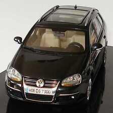 VW VOLKSWAGEN GOLF V 5 VARIANT 2007 DEEP BLACK AUTOART 1K9 099 300 C9X 1/43