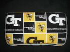 Black and Gold Georgia Tech Yellow Jackets Baby Wipes Case