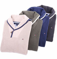 Tommy Hilfiger Men Classic Fit Shawl-Neck Shawl Collar Sweater -Free $0 Shipping