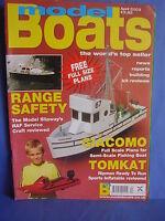 MODEL BOATS APRIL 2003 GIACOMO PLANS TOMKAT RANGE FINDER F246 KNM NORGE AQUARIUS