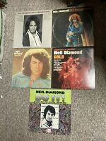 Lot of (5) NEIL DIAMOND LP records: Do It;Gold;Rainbow;August;Greatest -- VG+