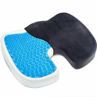 Orthopedic Gel Office Car Chair Seat Cushion Back Support Coccyx Sciatica Pain