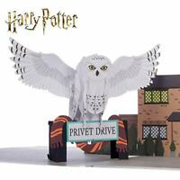 Harry Potter Hedwig 3D Card - Hedwig Pop Up Card, Harry Potter Gift   Includes a