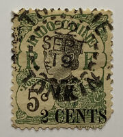 1919 INDOCHINA STAMP #68 OVERPRINT WITH TONKIN SON CANCEL