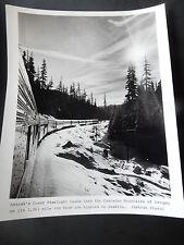 Original Amtrak Photo Coast Starlight Passenger Train Cascade Mountains Oregon