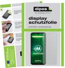 2x Motorola Moto G7 Plus Schutzfolie matt Displayschutzfolie Folie Display