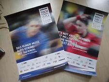 Tischtennis WM Düsseldorf – 2 Original Plakate