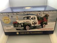 FRANKLIN MINT  ZG 84  2000 Christmas XMAS, 1950 GMC Truck 1:24  BRAND New