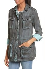 NWT Free People Double Cloth Military Jacket Size Small  Retail~ $148