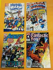 Comic Book Lot Marvel Holiday Special 1 Captain America 395 Avengers 341 F F 357