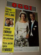 OGGI=1968/7=BENEDIKTE DANEMARK=SERGIO ENDRIGO=NEREO ROCCO MILAN=ODISSEA KOLOSSAL