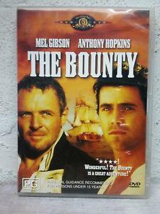 The Bounty DVD - Mel Gibson - Anthony Hopkins Adventure Movie - AUST REGION 4