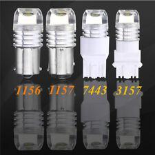 10X White Car Strobe Flash Light 3157 LED Car Auto Brake Stop Bulb Reverse Lamp