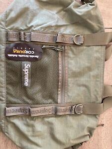 Supreme NYC Nylon Cordura Tote/Duffle Bag- Army Green Authentic