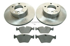 BMW 525D 525 E39 TOURING ESTATE 2000-2003 Diesel FRONT 2 BRAKE DISCS AND PADS