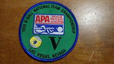 AMERICAN POOL PLAYERS ASSOCIATION  APA NATIONAL CHAMPS LAS VEGAS   PATCH BX E #5