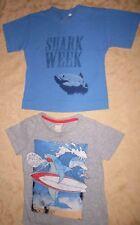SHARK SURF H&M/Princess Cruises Boys (Size 2-4) Short Sleeved (2 Pc) T-Shirts
