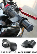 Bike Throttle Assist Grip Accelerator Cruise Control Hand Rest Handle Bar