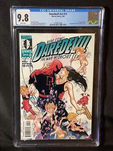 Daredevil V2 11 CGC 9.8 (2000) Echo Maya Lopez Appearance Marvel Disney+ Hawkeye