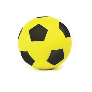 Sponge Football World cup size 20cm Size 5 Indoor/Outdoor Soccer  YELLOW