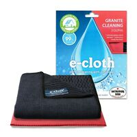 e-Cloth Granite Kitchen Cleaning 2 Pack, 1 Cleaning & 1 Streak-Free Drying Cloth