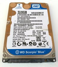WESTERN DIGITAL WD HARD DISK 320GB 2,5'' NOTEBOOK PS3 MACBOOK WD3200BEVT