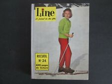 RELIURE FRANCAISE LINE N°24 (324-336) 1960 TBE