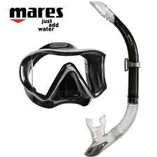 Mares I3 Maschera Sub in Silicone con Snorkel immersioni Snorkeling
