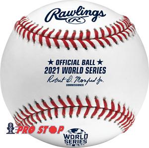 2021 Rawlings Official WORLD SERIES Baseball - boxed