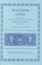 Opera: Volume II: Parmenides, Philebus, Symposium, Phaedrus, Alcibiades I and II