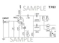 Mesa/Boogie Tremoverb Dual Rectifier Tube Amp Electronic Diagram Schematic