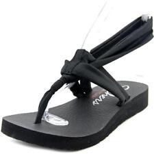 Sandalias y chanclas de mujer Skechers color principal negro de lona