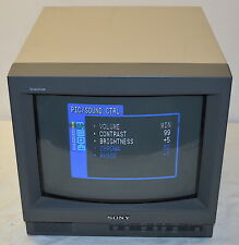 Sony PVM-14L1 13-Inch Monitor with 600 Lines, NTSC/PAL *Used, Working*
