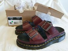 Womens Dr Martens  Cyprus Cherry Red Sandals size 5, original box and packaging