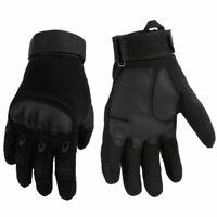 Motorradhandschuhe Sporthandschuhe Militär Handschuhe airsoft handschuhe Schwarz