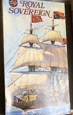 airfix 1/168 09251 royal sovereign vintage model ship kit unchecked parts