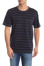 New Hudson Jeans Striped Short Sleeve T-Shirt/ Small/ Sailor Blue
