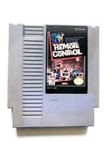 MTV Remote Control ORIGINAL NINTENDO NES GAME Tested + Working & Authentic!
