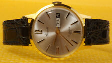 Men's Vintage CARIOLE 17J Mechanical Hand-Wind Watch SWISS MADE <<WORK WELL>>