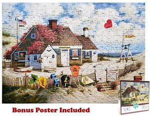 Charles Wysocki Root Beer Break At The Butterfield's 300 Piece Jigsaw Puzzle EUC