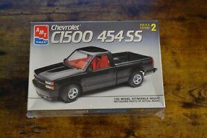 Revell Chevy Chevrolet OBS C1500 454 SS Pickup Truck Model Kit SEALED