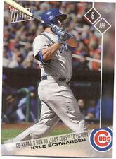 Kyle Schwarber Chicago Cubs Topps Now #17 April 6 2017 Baseball Card