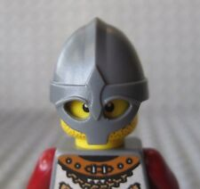 Custom VIKING HELMET (Steel) for Lego Minifigures Castle Raider Fantasy Project
