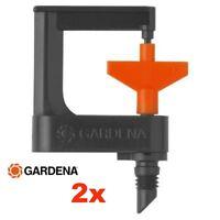 GARDENA 1369 2 Pezzi MICROIRRIGATORE ROTANTE 360° Micro-Drip-System Girandola