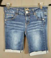 Popular Girls Bermuda Long Cotton Bike Shorts 4 Pack
