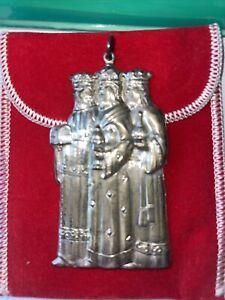 Gorham Sterling Silver 3 Wisemen Christmas Tree Ornament